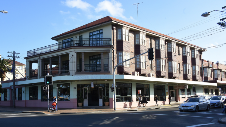 Exterior of the Coogee Bay Hotel, home of Selina's.