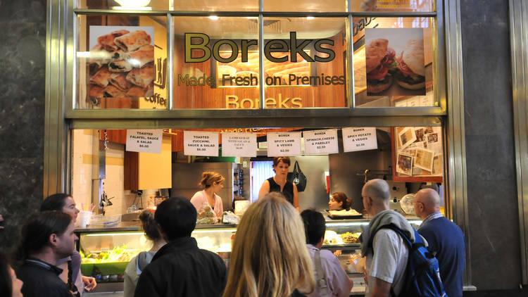 Borek at Queen Victoria Market 2010