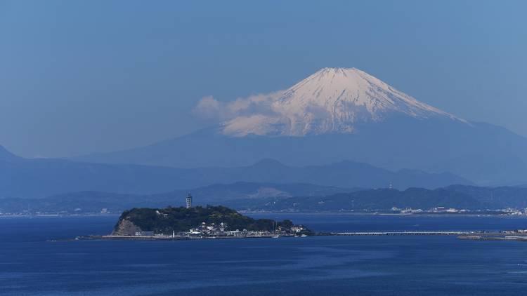 Enoshima, Mt Fuji