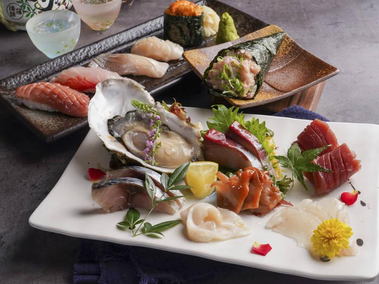 Wako Sake Izakaya、Sushi & Tap:全球首間生酒清酒吧