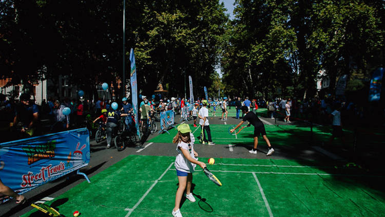 Street Tennis, Copa Davis