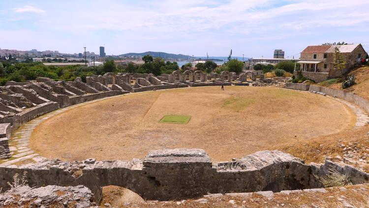 salona, solin, archeology, history