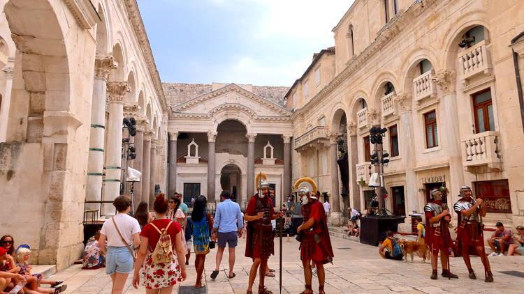 diocletian's, palace, split
