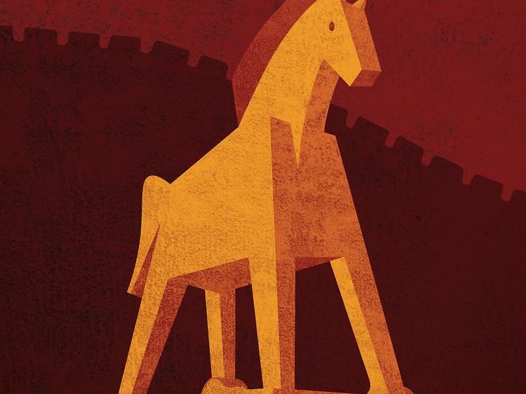 Ulisses e o Cavalo de Tróia