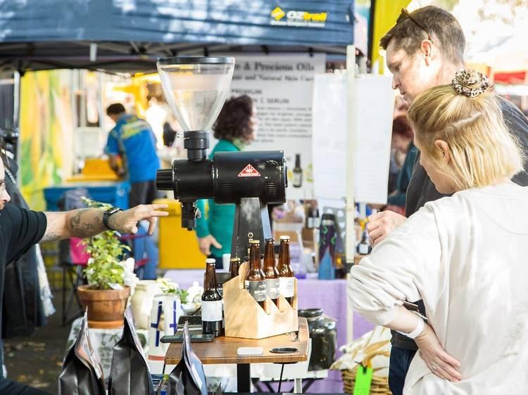 Explore the vibrant West End Markets