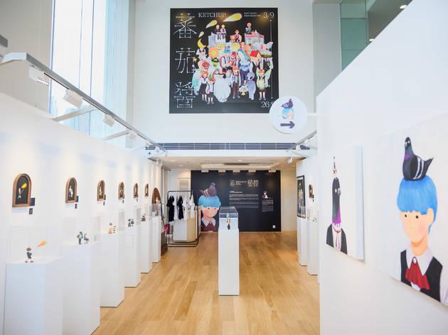 Kazy Chan Ketchup solo exhibition