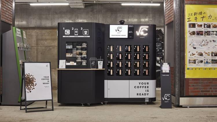 Root C coffee robot