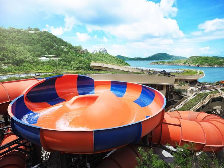 海洋公園水上樂園9月21日開幕