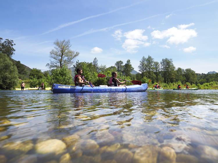 En canoa pel Sella