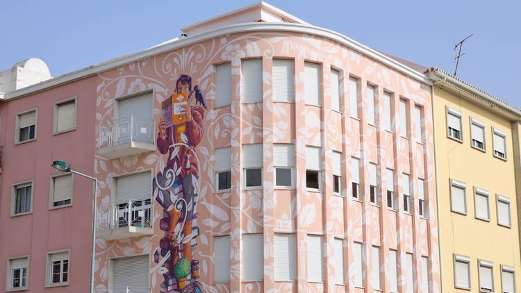 Mural em Alvalade