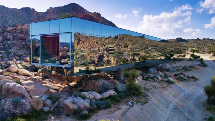 Mirror house, Joshua Tree, Airbnb
