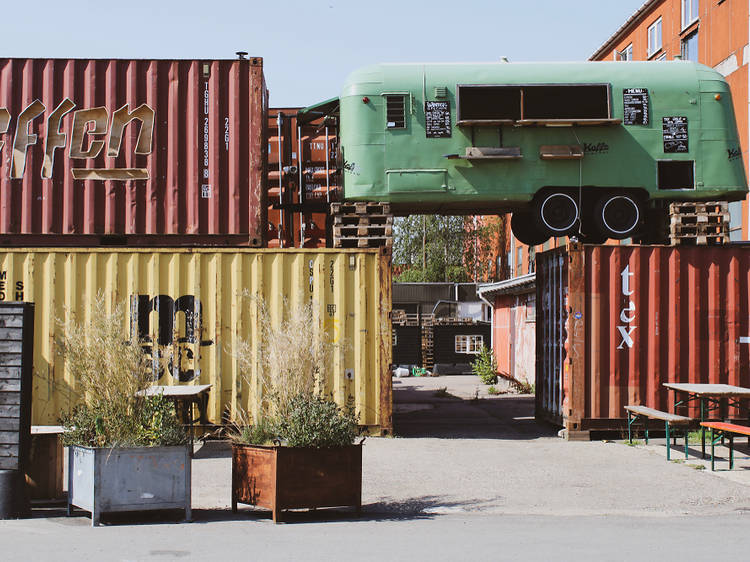 The recycled buildings