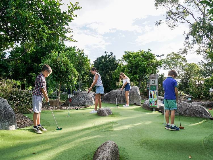 Practice your putting at Victoria Park
