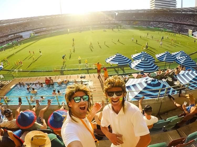 Cheer on the local teams at the Gabba