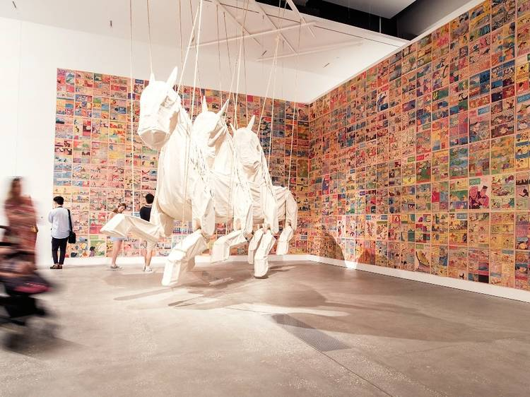 Immerse yourself in world-class art at QAGOMA