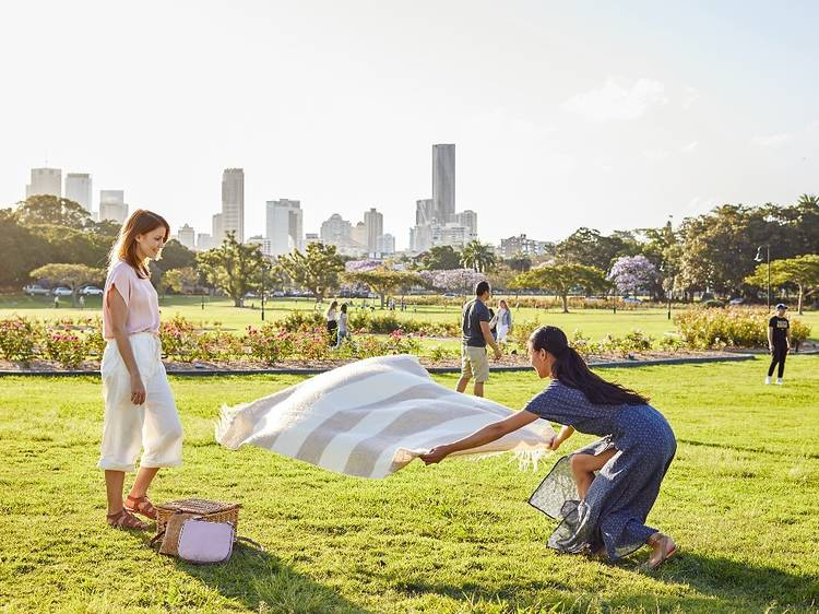 Picnic in the parklands