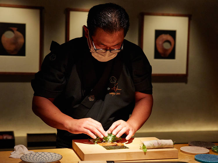 In photos: Udatsu's vegetarian sushi course is a sumptuous modern Japanese omakase