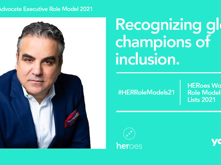 Time Out Group CEO listed in the 2021 HERoes Advocate Executives List