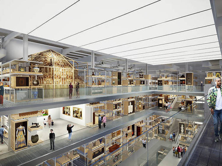 ビクトリア&アルバート博物館が東ロンドンに2つの新展示施設を建設