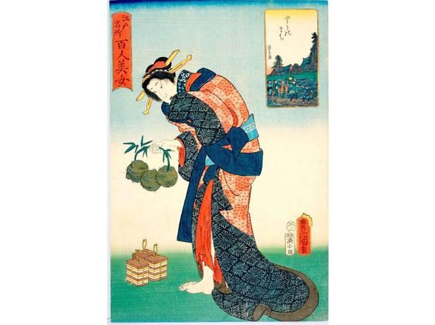 こんなところにも!「和菓子で楽しむ錦絵」展