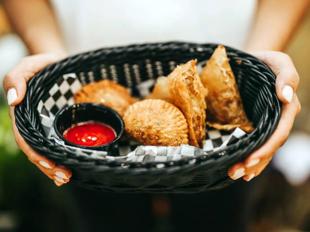 As empanadas e as chamuças fazem parte do menu do AlterEgo