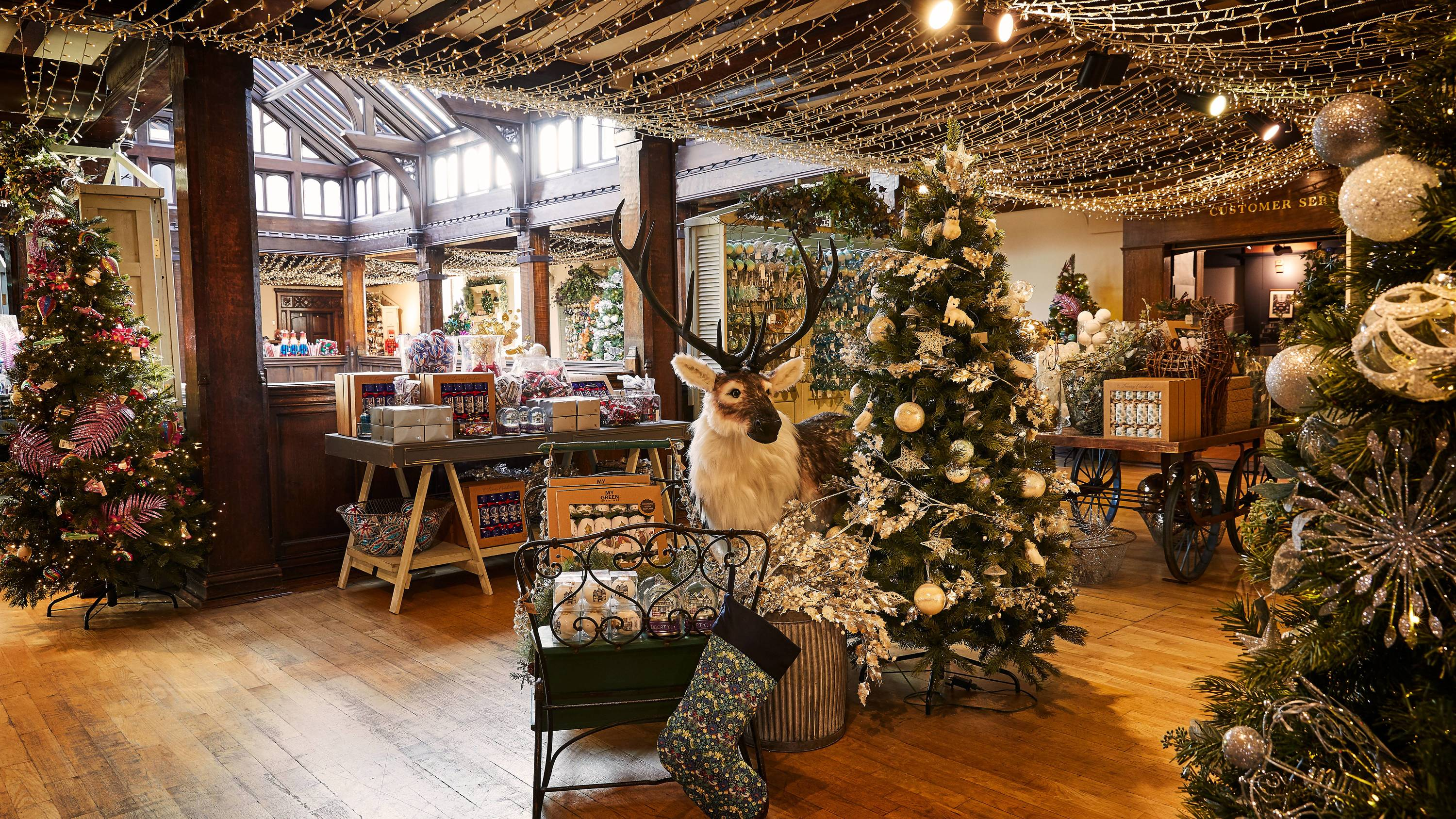Liberty's Christmas shop is officially open