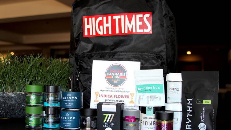 High Times cannabis cup judge kit