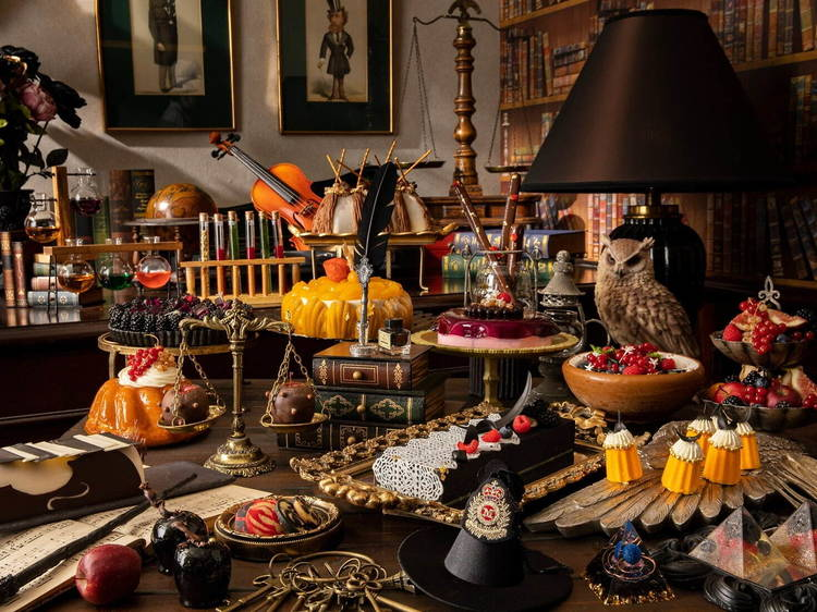 Wizarding School Sweets and Lunch Buffet