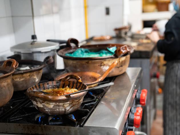 Mux, cocina de investigación en la Roma