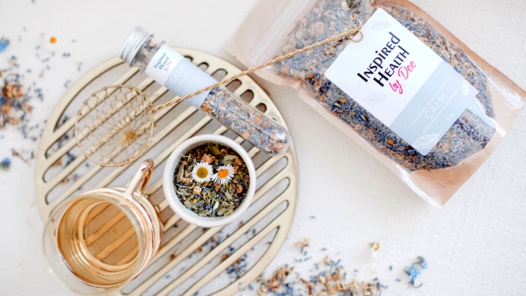 Lavender tea by Inspired Health by Dee