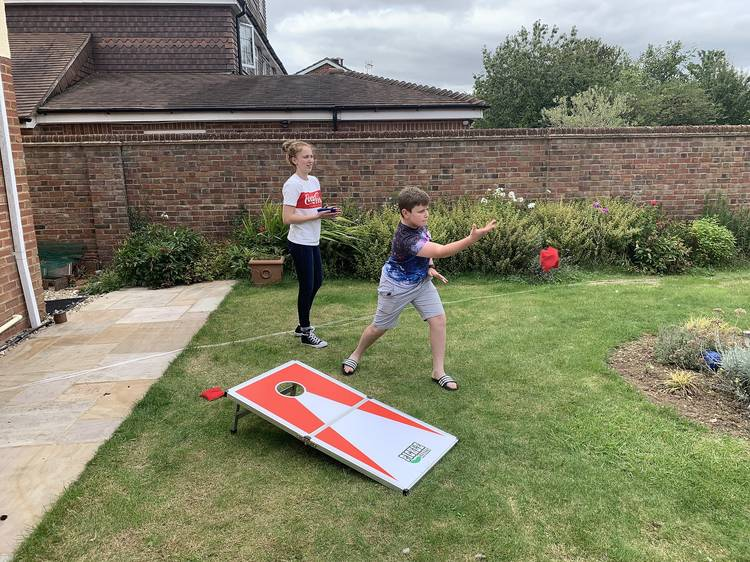Try these fun outdoor games you can play at home