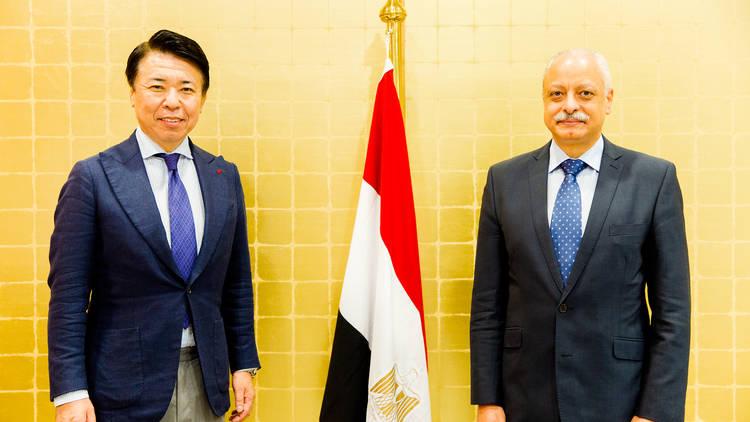 Tokyo meets the world Egypt