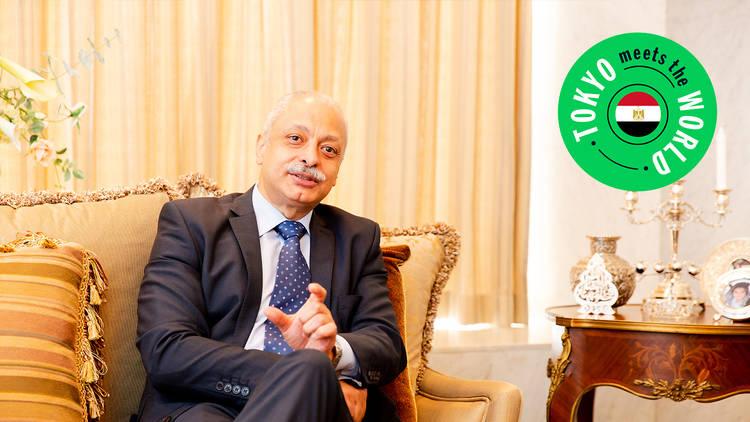 Ambassador of Egypt to Japan Ayman Aly Kamel
