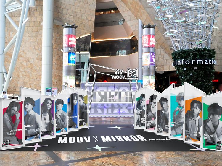Moov x Mirror Mask 期間限定店