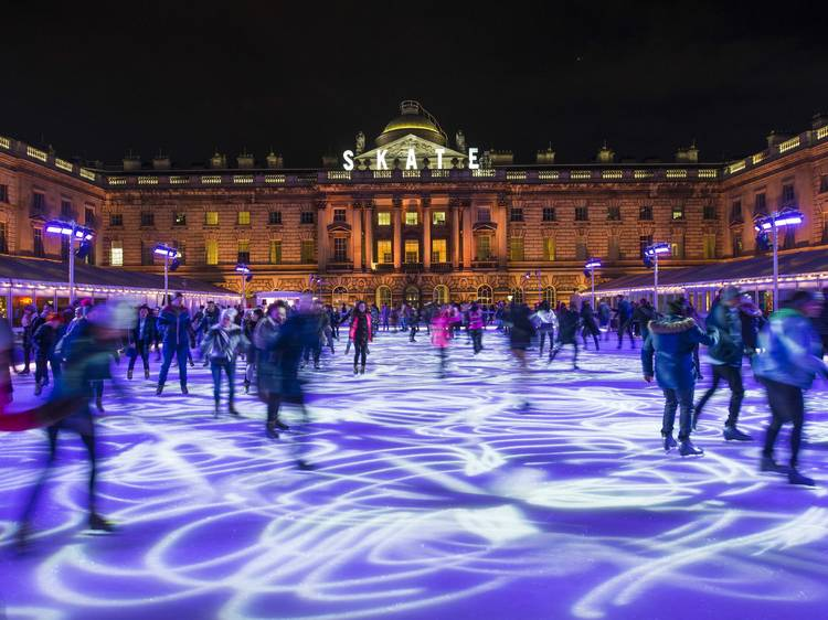 EXCLUSIVE: Somerset House's SKATE ice rink is coming back this winter