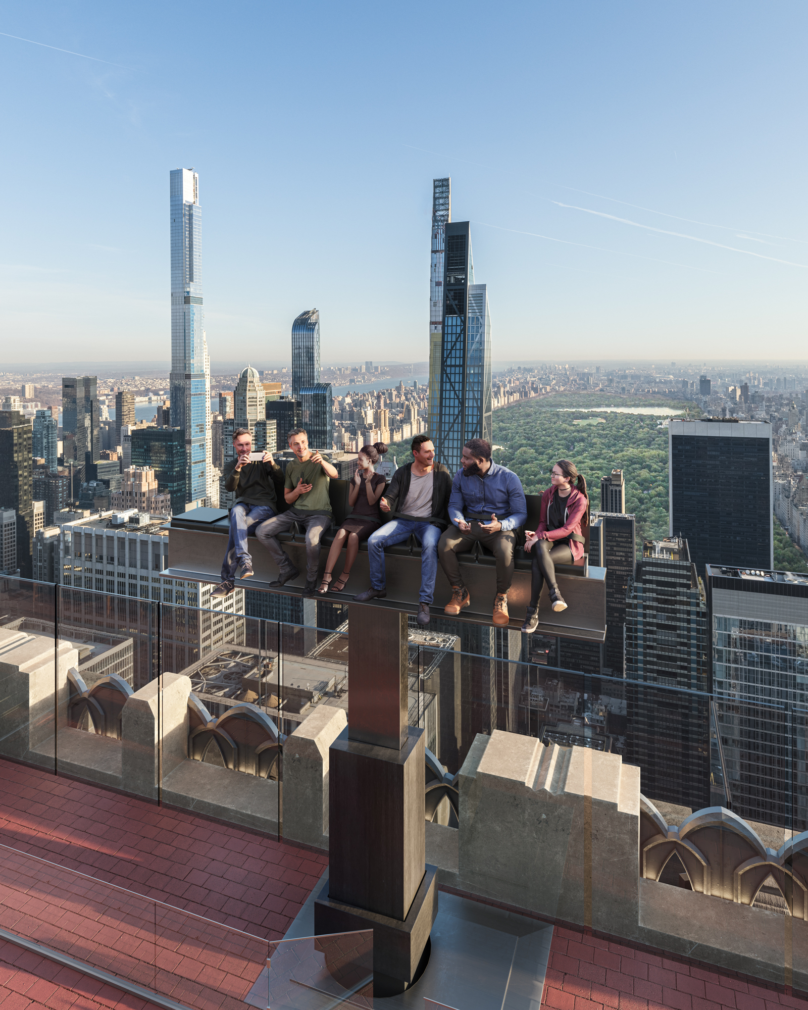 A thrilling new ride could be coming to the Top of the Rock