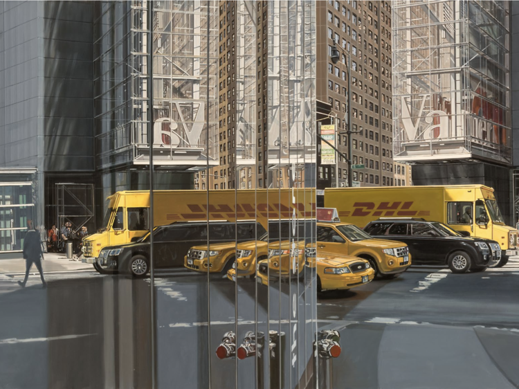 Richard Estes: Voyages at Newport Street Gallery review