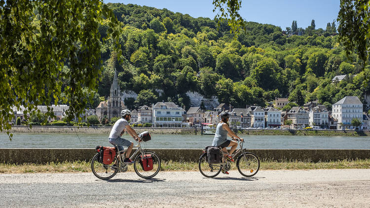 La Bouille, La Seine à Vélo