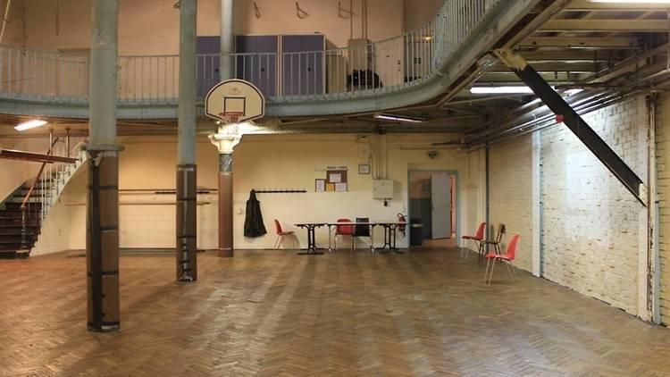 Plus vieux terrain de basket