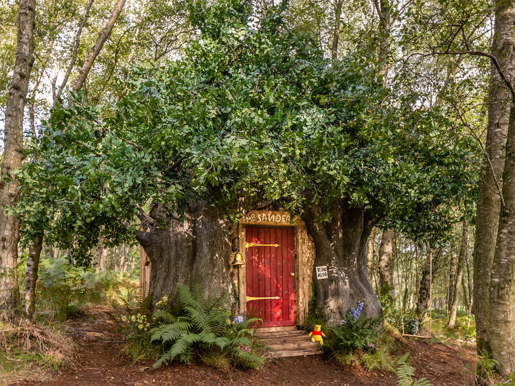You can stay in this adorable Winnie the Pooh cottage in the real Hundred Acre Wood