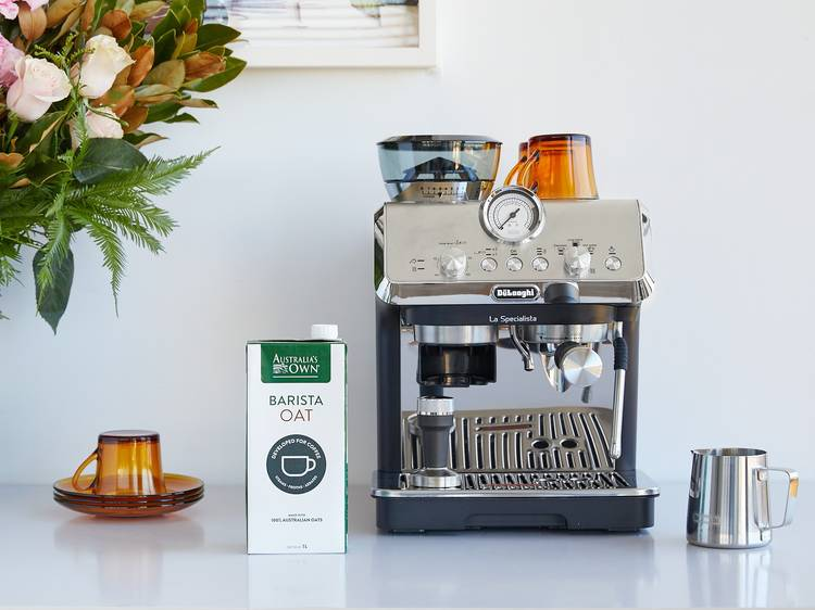 Craft your perfect plant-based coffee at home