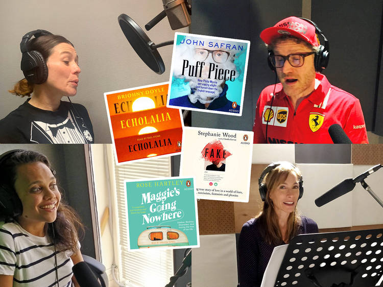 Check out these audiobooks read by famous Australians
