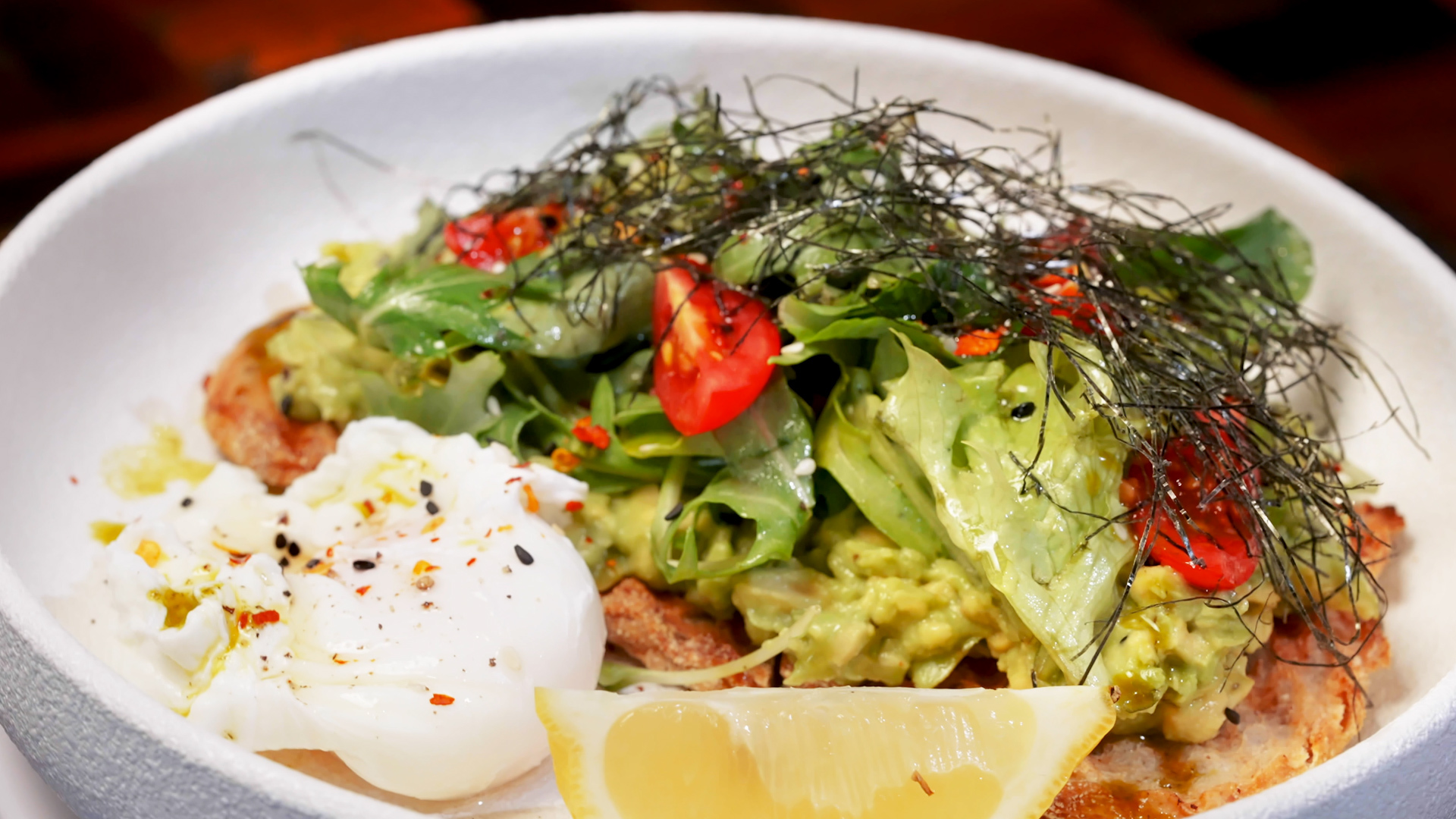 Food Ticket: cooking with avocado