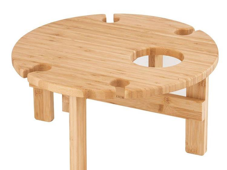 A wooden table