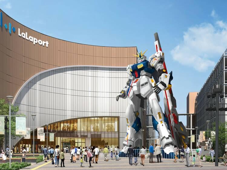 Fukuoka is getting the biggest Gundam statue in Japan