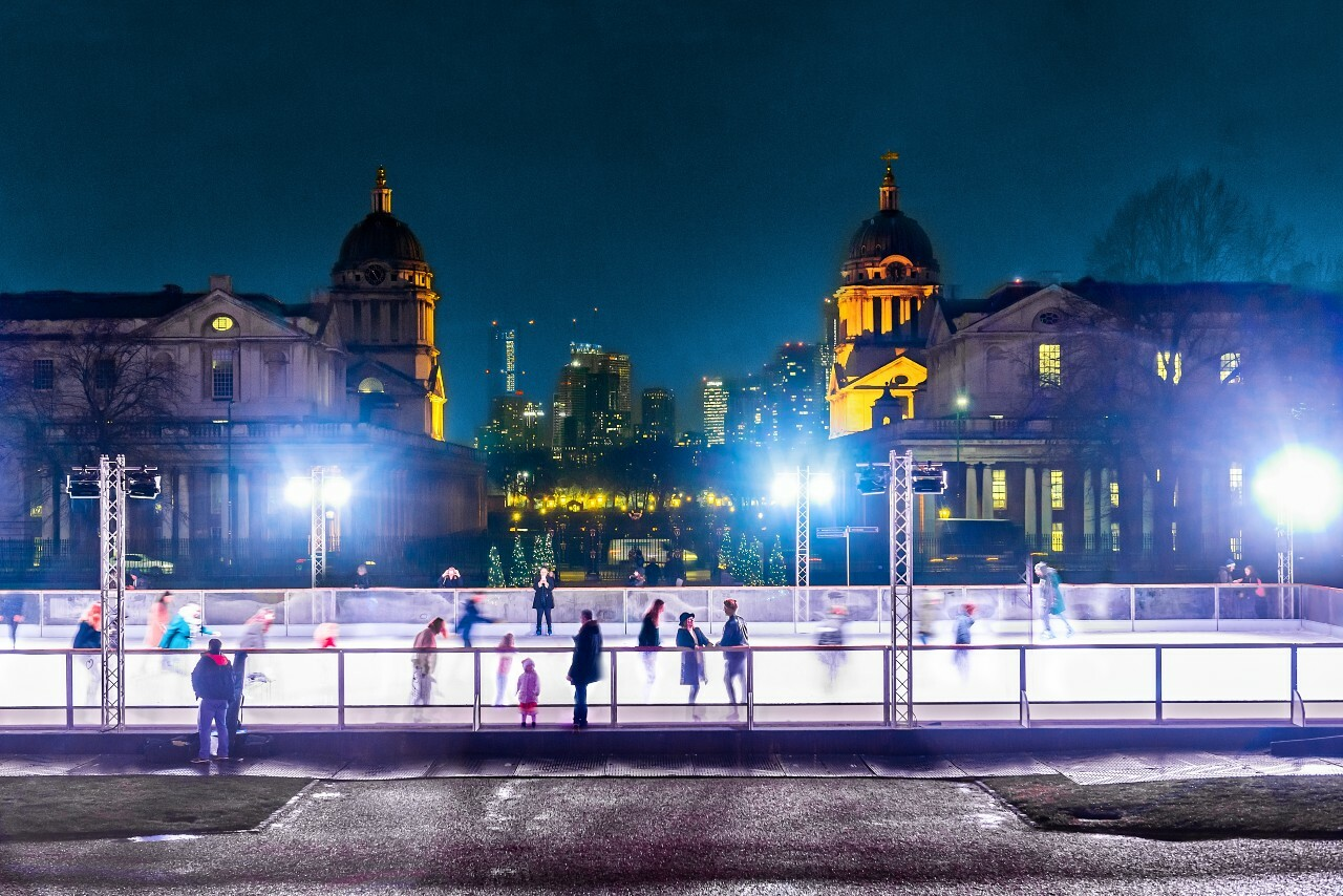 The magical Queen's House ice rink is coming back this winter
