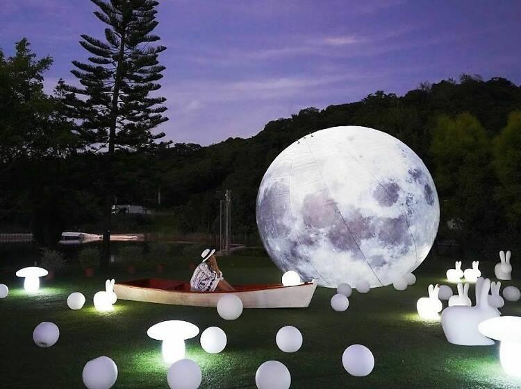 大埔 Lake House「白鷺•團圓」花燈許願祭