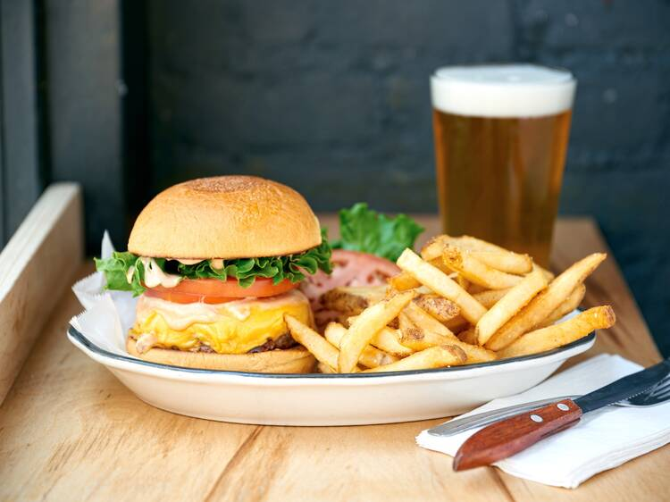 Get a free cheeseburger from Black Tap in NYC this Saturday!