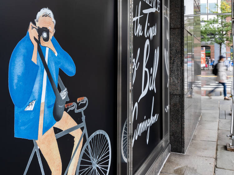 NYC's massive new immersive Bill Cunningham exhibition is a must-see event