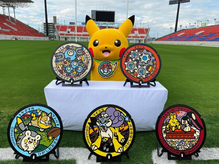 Osaka prefecture now has its very first Pokémon manhole covers